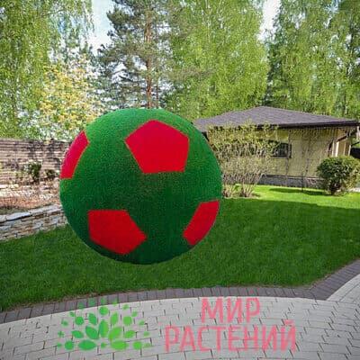Топиарная фигура Футбольный мяч (красный)