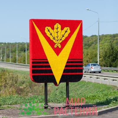 Герб города двусторонний